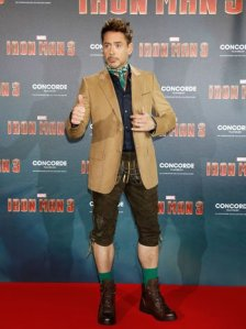 Sometimes, I'm not sure that Robert Downey, Jr. knows that he isn't really Tony Stark.