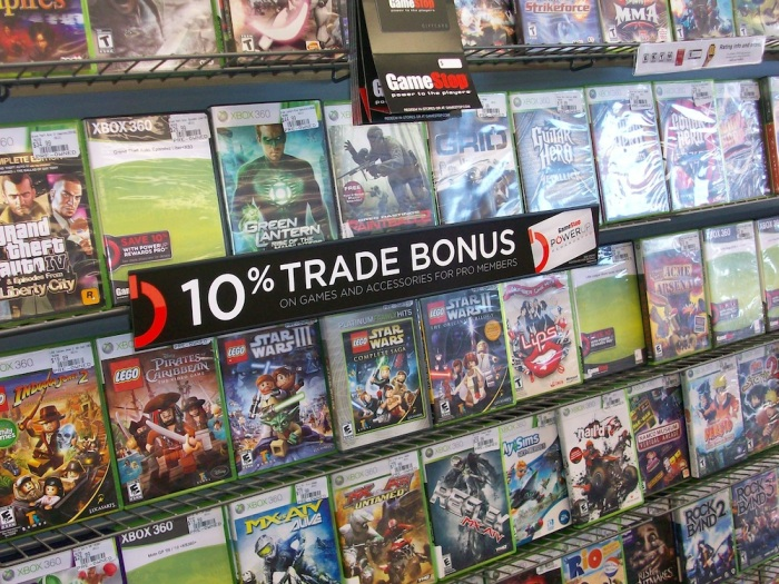 Gamestop will probably need to clear out this space for new games, though.