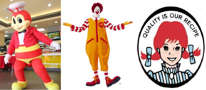 Who would you want to cook your burgers? A mutant bee, a clown or a 9-year old girl?