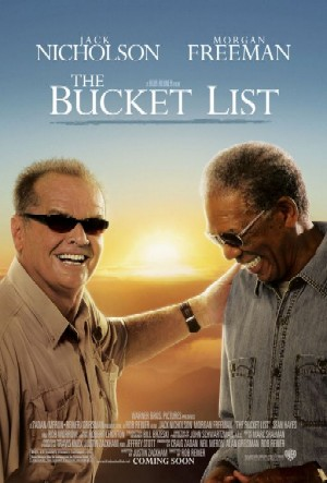 Number 8 on the list: Go watch The Bucket List