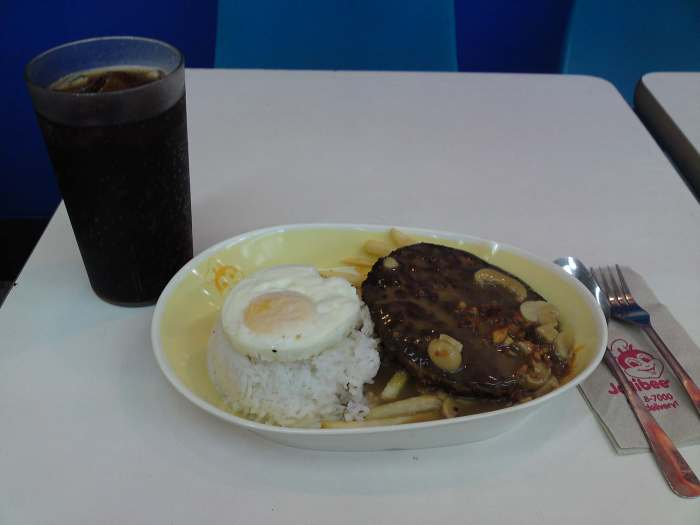 The Ultimate Burger Steak meal? More like the Okay but Bigger Burger Steak meal!
