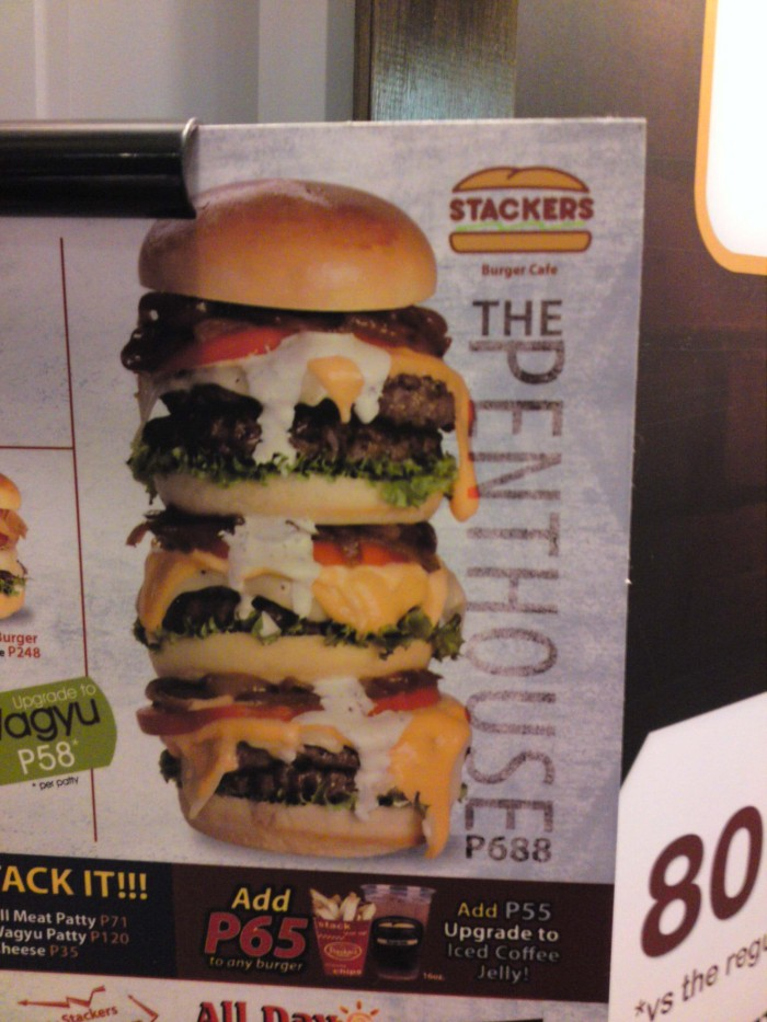 Now THAT'S a burger!