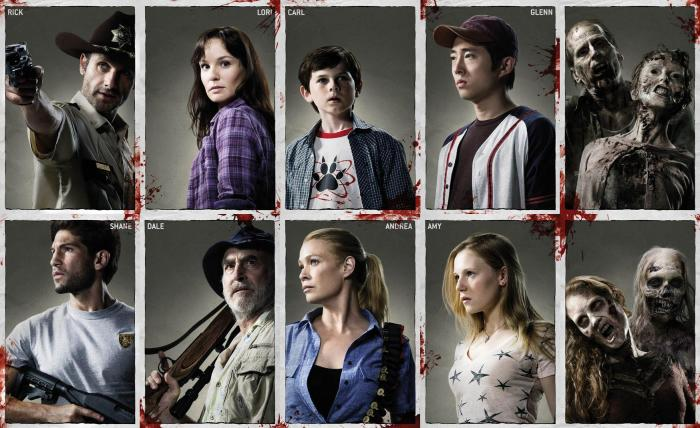 The cast of... wait, are there actual corpses as part of the regular cast?