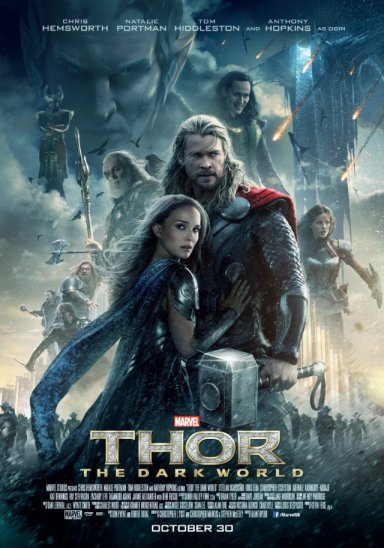 Theatrical Poster for Thor: The Dark World.