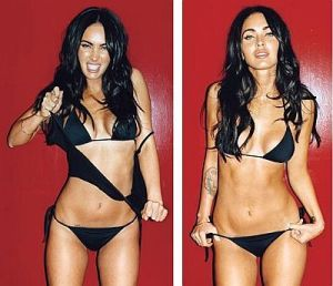 I finally found a reason to post a picture of Megan Fox! I can die happy!