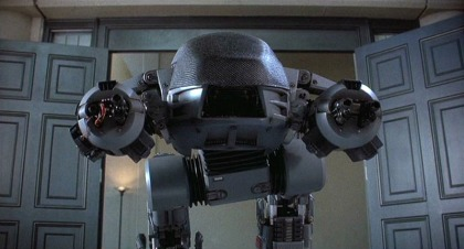 ED-209 does look great when it's not moving, though