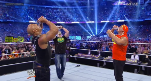 Tell me if you heard this one: The Rock, Stone Cold and The Hulkster walk into a bar...