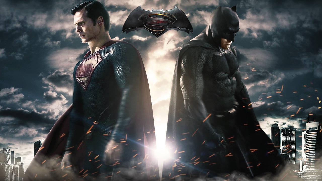 Batman V Superman Dawn Of Justice Team Poster Published May 30 2014 At 1280 X 720