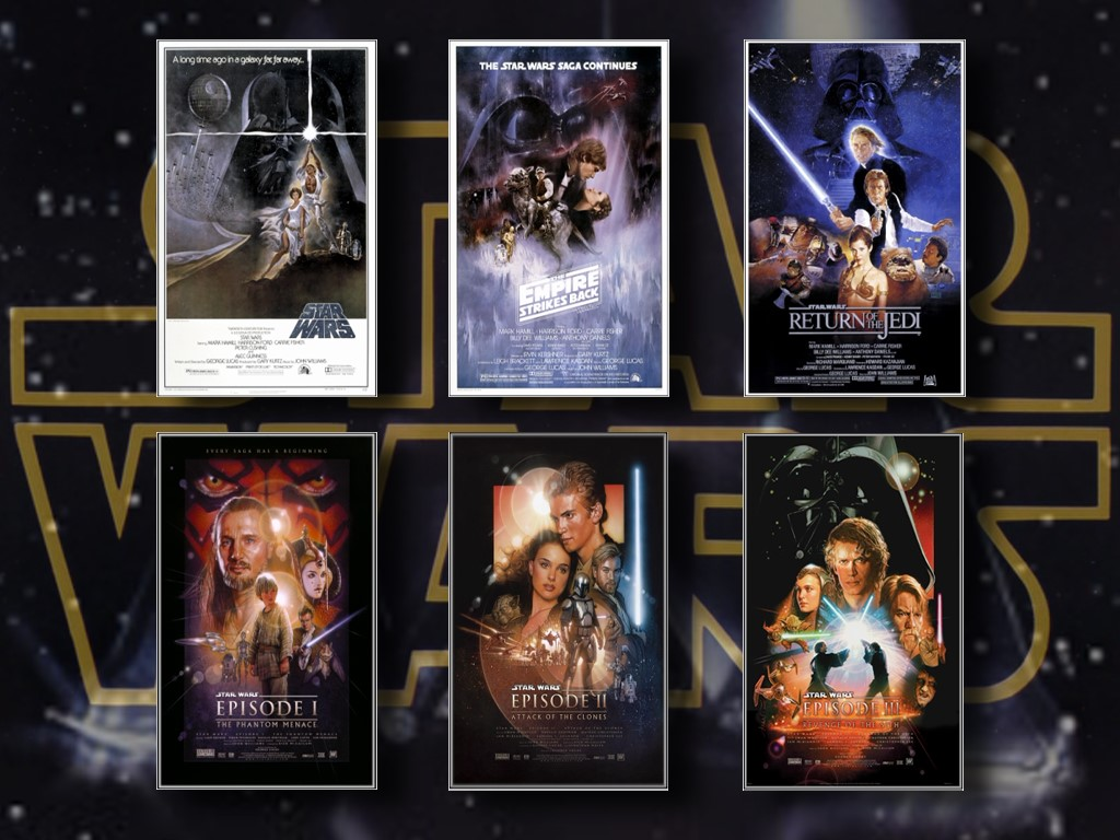 the best order to watch all the  current  star wars films
