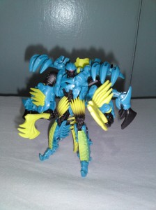 The sky blue also works in robot mode