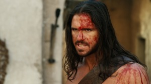 What Hercules looks like after every fight in the film.