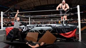 If this was a Tables match, Big Show would've won two times right now!