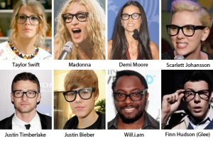 Are fake glasses an upfront to people who need them for real? You decide!