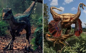 That's not to say a feathered dinosaur wouldn't look frightening