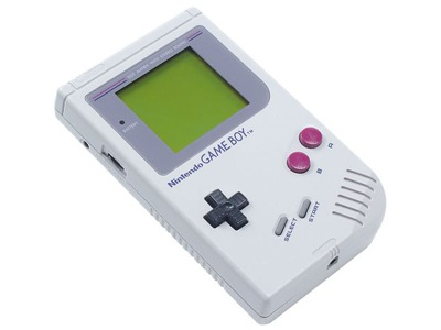 The original Game Boy - the first cartridge-based gaming device that I owned.