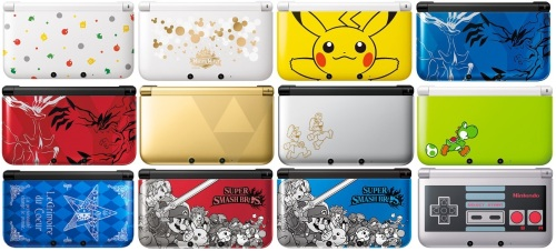 The limited editions of the Nintendo 3DS XL that were released in North America.
