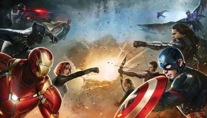 civil war - cap vs iron man