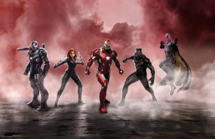 civil war - team stark v2