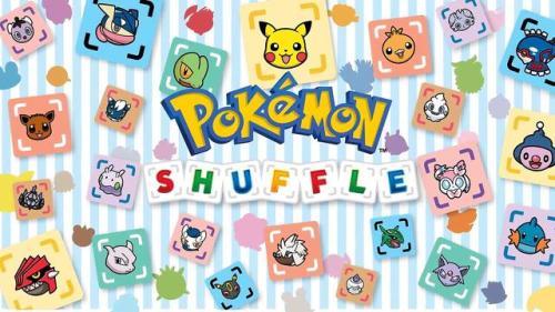 Pokemon Shuffle Splash Page