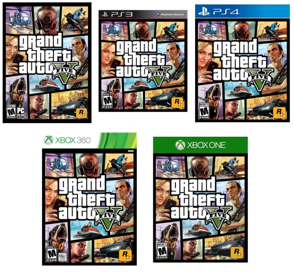 gta v different editions