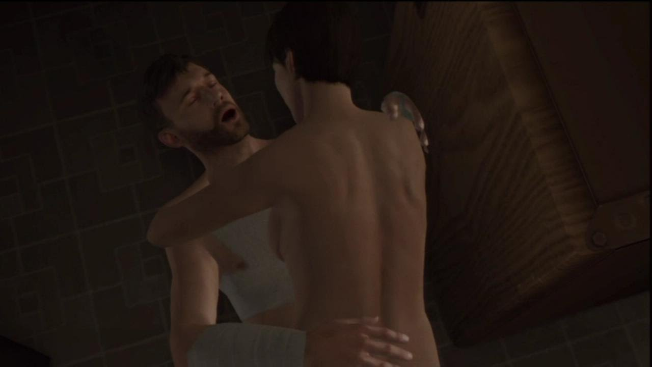 Speaking, Heavy rain sex scene remarkable