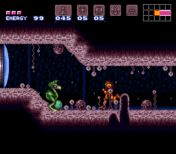 Super Metroid's backgrounds are sweet, by the way.