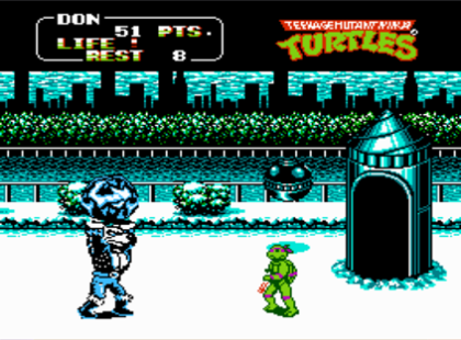 TMNT_II_Snow_Level
