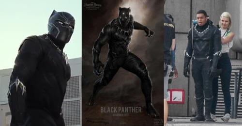 black panther collage