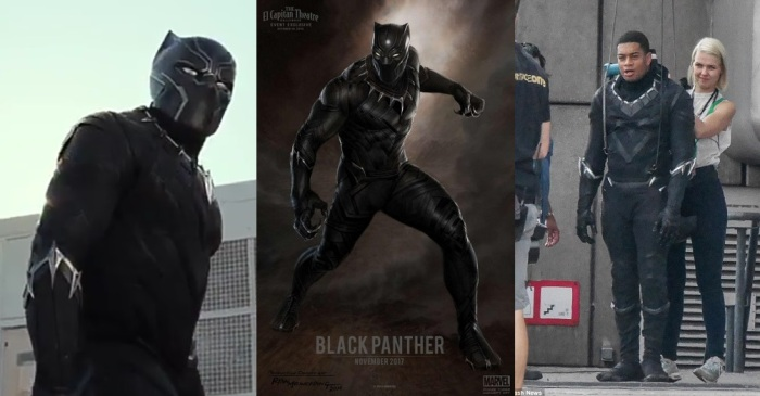 black panther collage