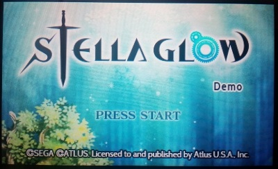 Playing the Stella Glow demo got me even more interested in the game.