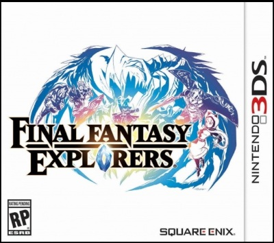 box art - final fantasy explorers