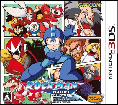 box art - mega man legacy collection