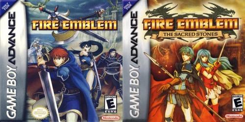 Fire Emblem GBA games