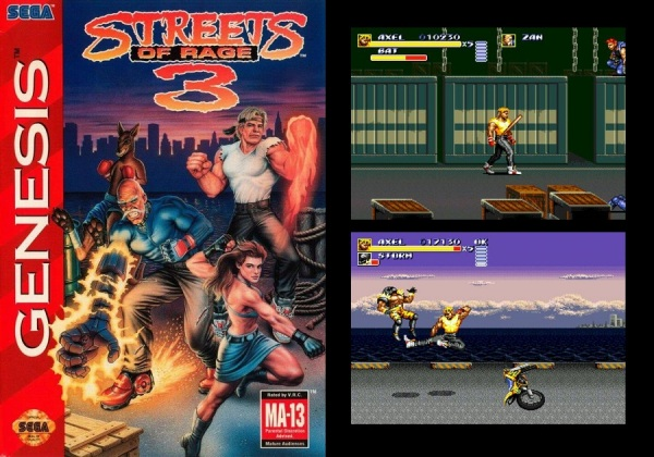 Streets of Rage 3.