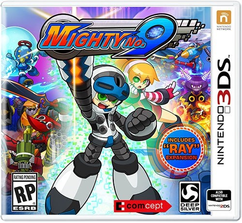 boxart - mighty no 9