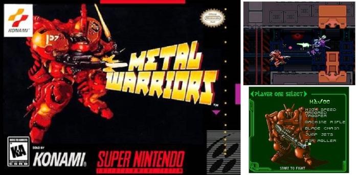 collage - metal warriors