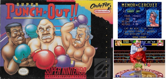 collage - super punch out