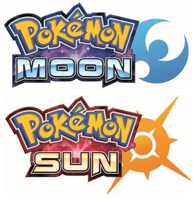 logo - pokemon sun moon