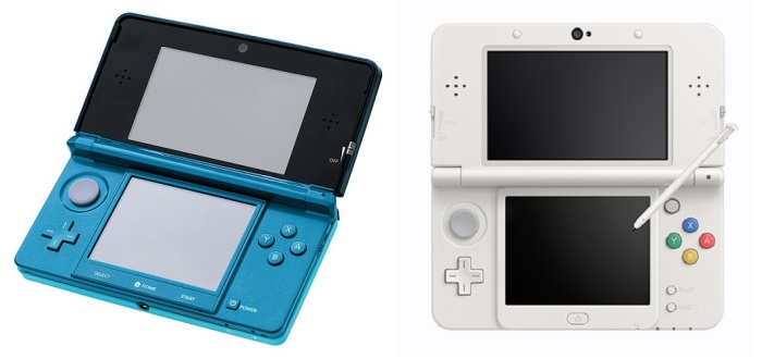 3ds and new 3ds