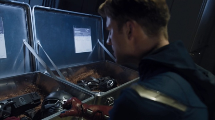 cap discovers hydra weapons