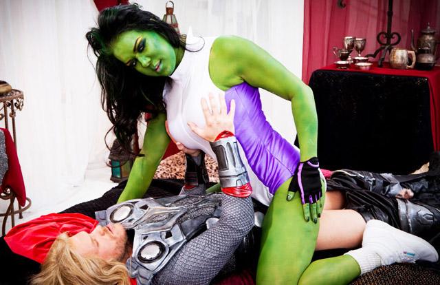 Chyna as she hulk