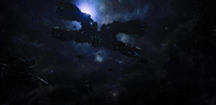 the chitauri invasion force