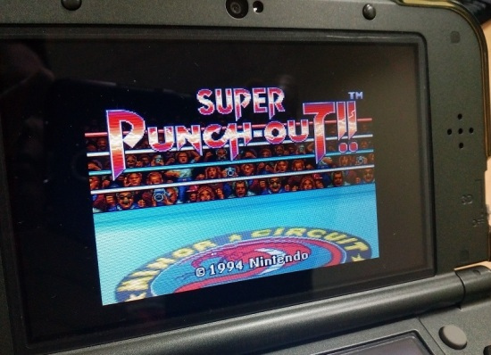 Super Punch Out on N3DS
