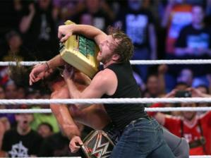 The Money in the Bank briefcase: used as a weapon 80% of the time rather than to cash in for the title.