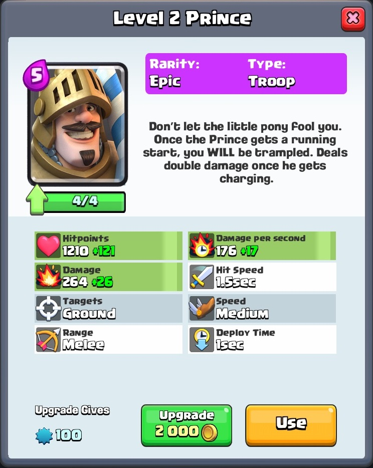clash royale max level