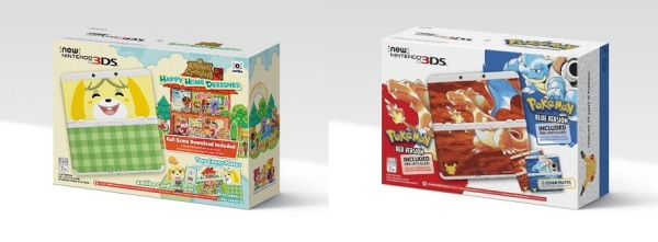 new nintendo 3ds special editions