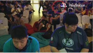 I was literally behind him... and Ricki and K-Brad throughout Top 8!
