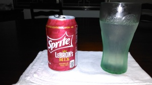 Look at that clear fizzy soda.