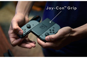 And the Joy Con Grip as well