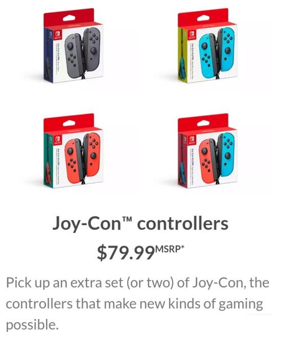 joycons